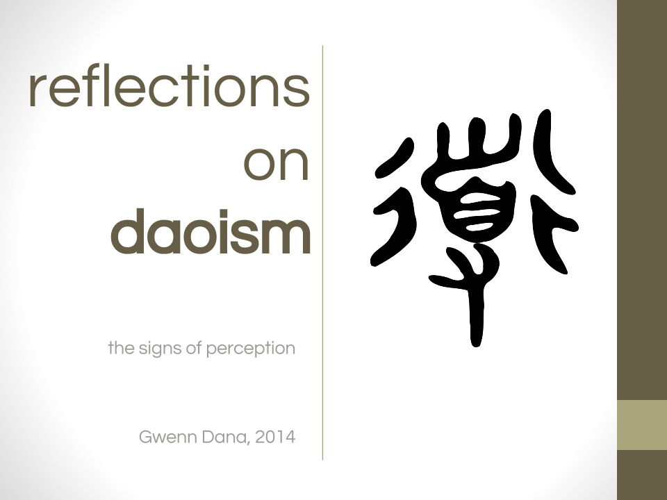 Reflections on Daoism.